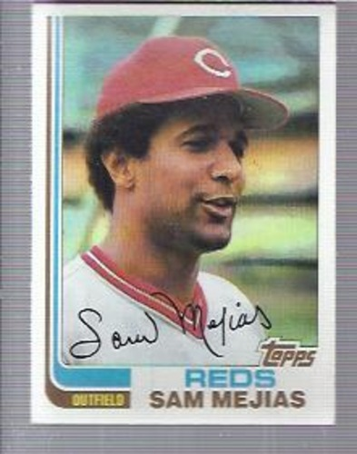 Photo of 1982 Topps #228 Sam Mejias