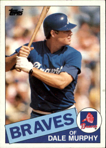 Photo of 1985 Topps #320 Dale Murphy