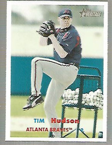 Photo of 2006 Topps Heritage #80A T.Hudson Red/Blue Ltr
