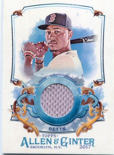 Photo of 2017 Topps Allen and Ginter Relics Mookie Betts
