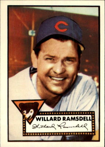 Photo of 1983 Topps 1952 Reprint #114 Willard Ramsdell