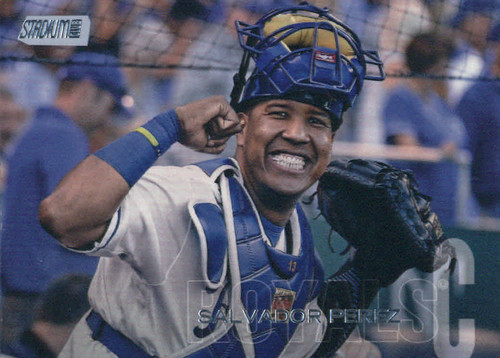 Photo of 2018 Stadium Club #272 Salvador Perez