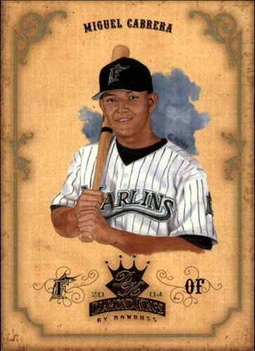Photo of 2004 Diamond Kings #103 Miguel Cabrera