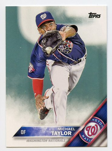 Photo of 2016 Topps #514 Michael Taylor