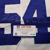 Crucial Catch - Cowboys Jaylon Smith Signed Game Issued Jersey Size 44 w/Prova Authentication and #Clear Eye View Inscription