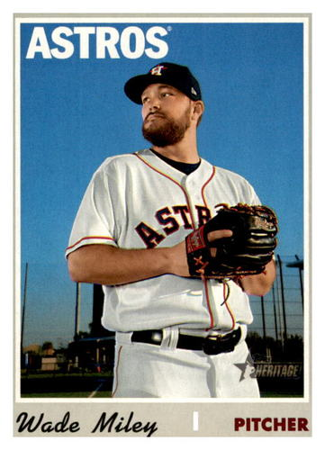 Photo of 2019 Topps Heritage #562 Wade Miley