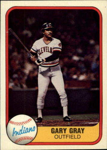 Photo of 1981 Fleer #402 Gary Gray RC