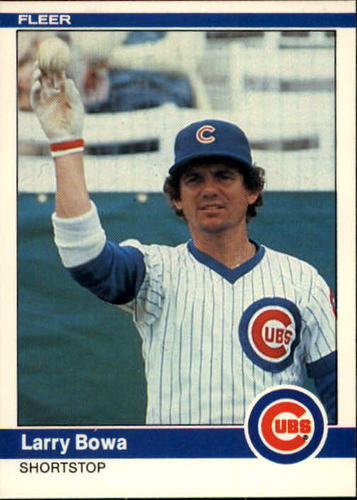 Photo of 1984 Fleer #486 Larry Bowa