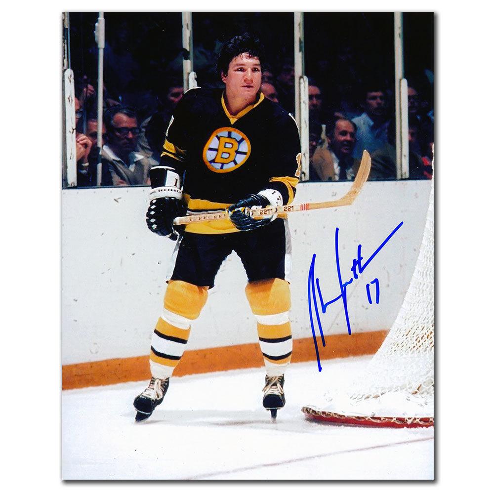 Stan Jonathan Boston Bruins ACTION Autographed 8x10