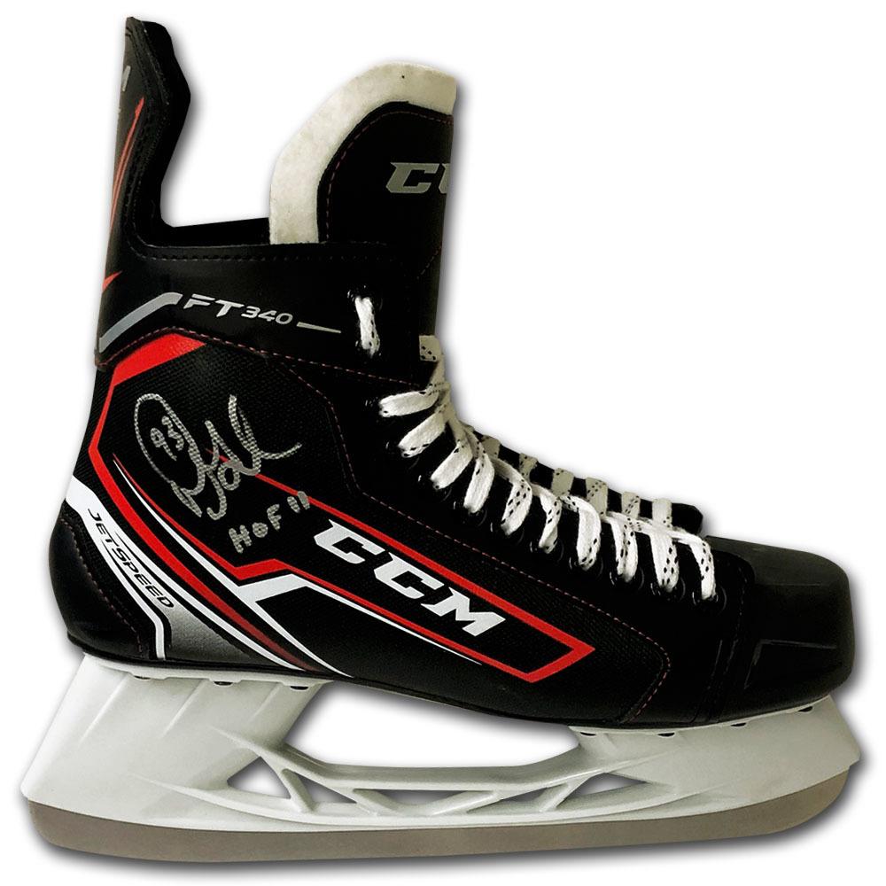 Doug Gilmour Autographed CCM Hockey Skate