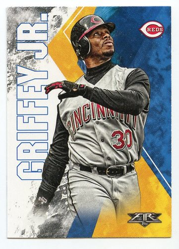 Photo of 2019 Topps Fire #38 Ken Griffey Jr.