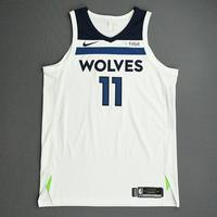 Jamal Crawford - Minnesota Timberwolves - NBA China Games - Game-Worn Association Edition Jersey - 2017-18 NBA Preseason