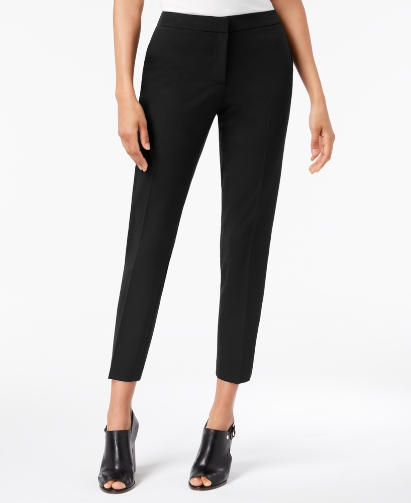 Photo of Tommy Hilfiger Twill Slim-Leg Ankle Dress Pants