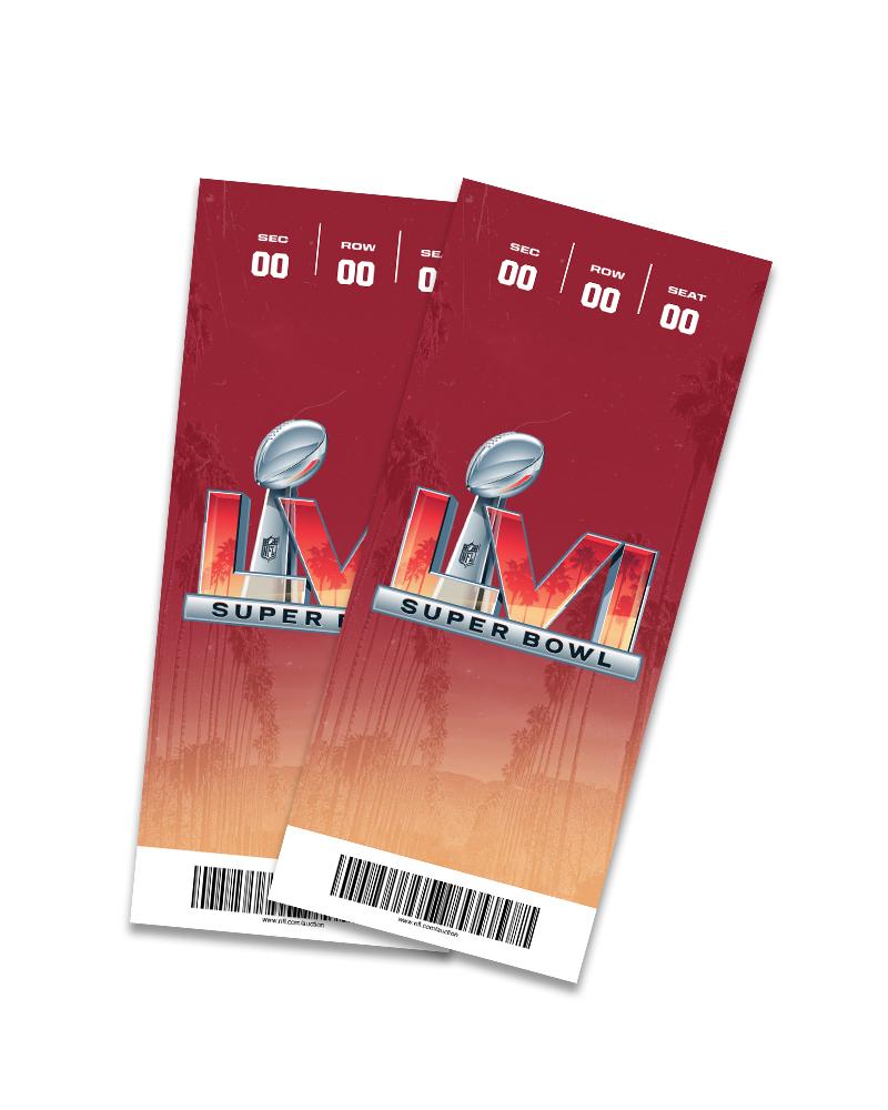 Detroit Lions Super Bowl LVI Sweepstakes