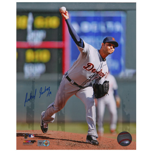 Photo of Detroit Tigers Anibal Sanchez Autographed 8x10 Photo