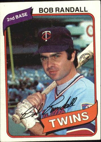 Photo of 1980 Topps #162 Bob Randall