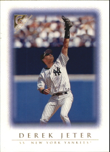 Photo of 1999 Topps Gallery Player's Private Issue #20 Derek Jeter