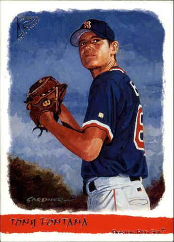 Photo of 2002 Topps Gallery #172 Tony Fontana FYP RC