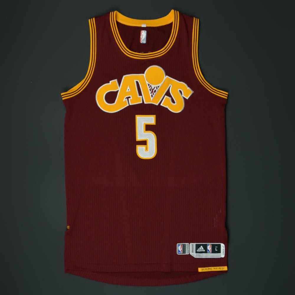 71726d69443 JR Smith - Cleveland Cavaliers - Game-Worn  Stretch  Jersey - 2015 ...