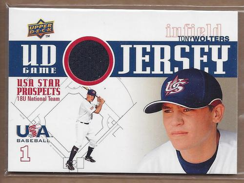 Photo of 2009 Upper Deck Signature Stars USA Star Prospects Jerseys #20 Tony Wolters