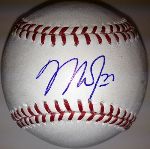 Photo of Mike Trout Autographed Baseball