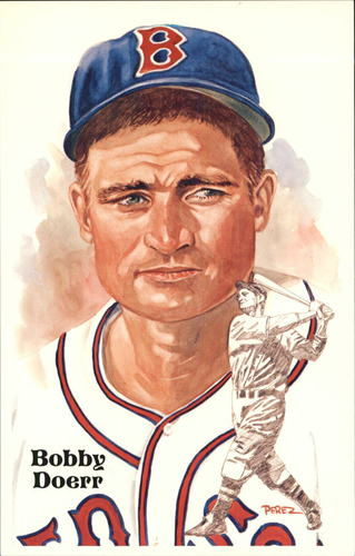 Photo of 1980-02 Perez-Steele Hall of Fame Postcards #194 Bobby Doerr -- HOF Class of 1986