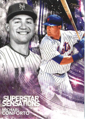 Photo of 2018 Topps Superstar Sensations #SSS36 Michael Conforto