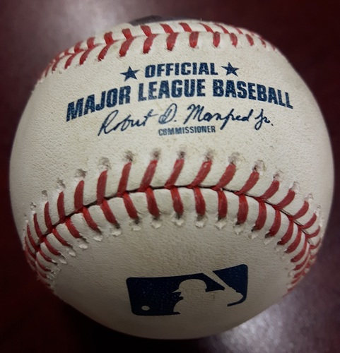 Photo of Authenticated Game Used Baseball - Shohei Ohtani Walk vs Deck McGuire on May 24, 2018 (Top 8)