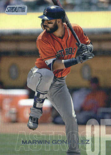 Photo of 2018 Stadium Club #278 Marwin Gonzalez