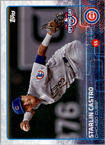Photo of 2015 Topps Opening Day #58 Starlin Castro