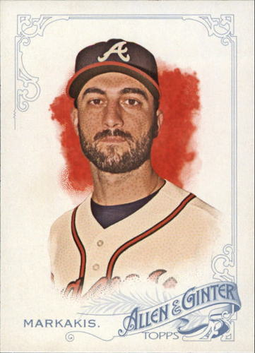 Photo of 2015 Topps Allen and Ginter #2 Nick Markakis