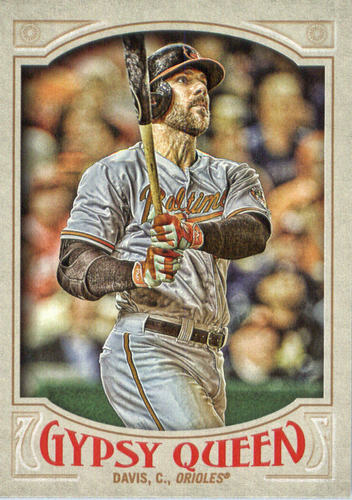 Photo of 2016 Topps Gypsy Queen #143 Chris Davis
