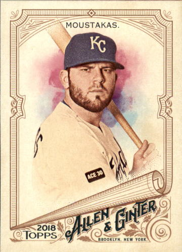 Photo of 2018 Topps Allen and Ginter #89 Mike Moustakas