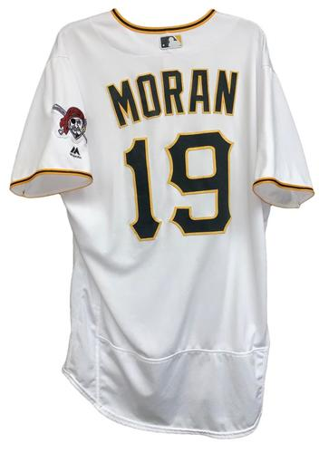 Photo of Colin Moran 2018 Game-Used Jersey - Opening Day Grand Slam