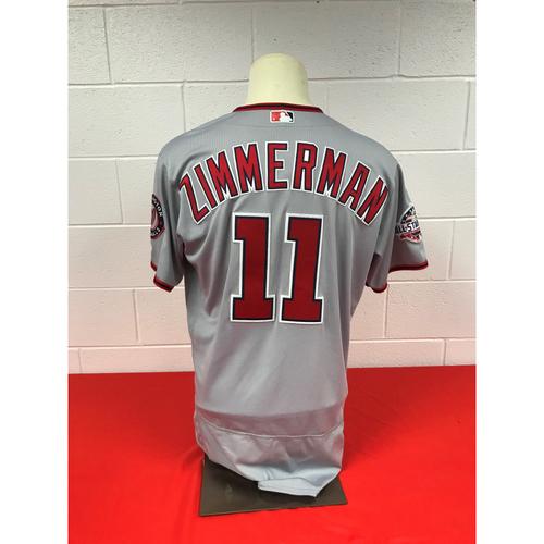 super popular 14c52 8c9df MLB Auctions | Ryan Zimmerman Game-Used Washington Nationals ...