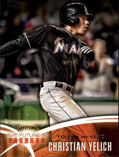 Photo of 2014 Topps The Future is Now #FNCY3 Christian Yelich UPD