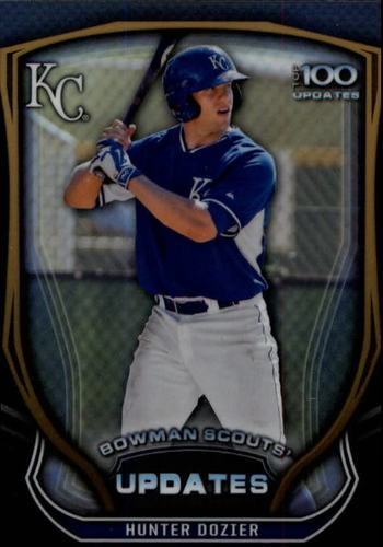 Photo of 2015 Bowman Chrome Bowman Scouts Update #BSUHD Hunter Dozier