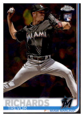 Photo of 2019 Topps Chrome #93 Trevor Richards RC