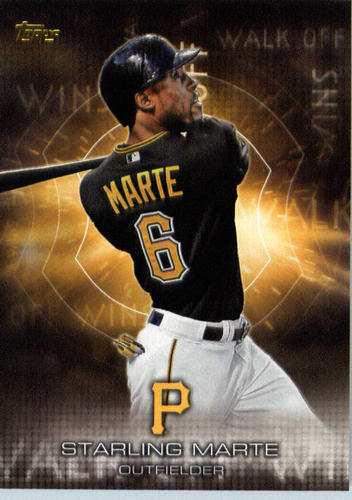 Photo of 2016 Topps Walk Off Wins #WOW12 Starling Marte