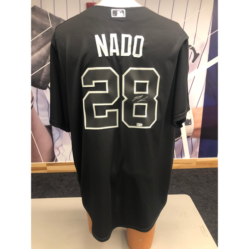 "Photo of Colorado Rockies Autographed Replica Jersey: 2019 Players Weekend Nolan ""Nado"" Arenado"