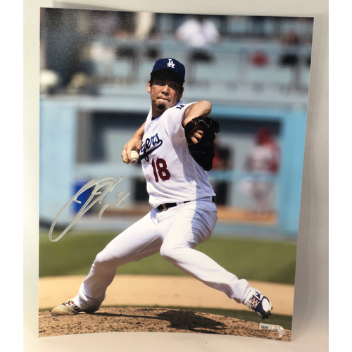 Photo of Kenta Maeda Authentic Autographed Photograph