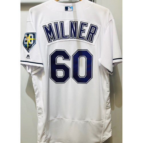 Photo of 2018 Team Issued Devil Rays Jersey: Hoby Milner (size 46)