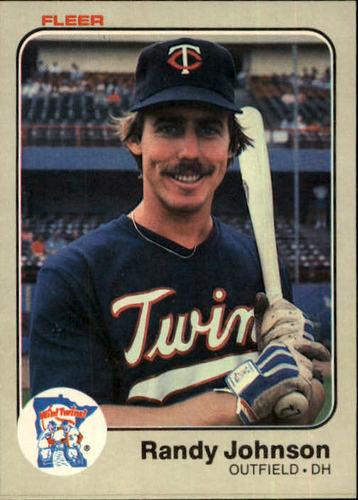 Photo of 1983 Fleer #617 Randy Johnson RC