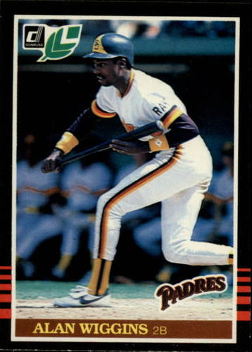 Photo of 1985 Leaf/Donruss #68 Alan Wiggins