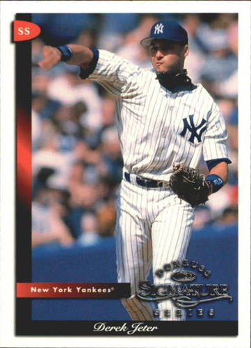 Photo of 1998 Donruss Signature #2 Derek Jeter
