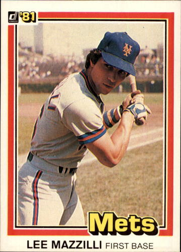 Photo of 1981 Donruss #34 Lee Mazzilli