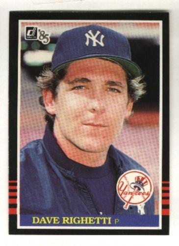Photo of 1985 Donruss #336 Dave Righetti