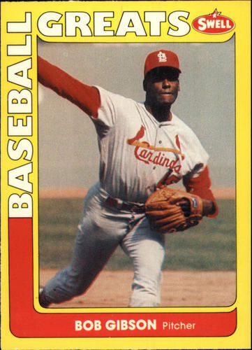 Photo of 1991 Swell Baseball Greats #33 Bob Gibson
