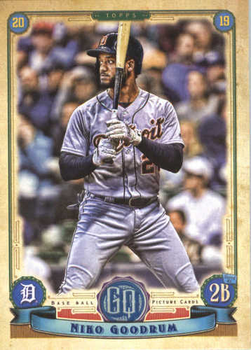 Photo of 2019 Topps Gypsy Queen #181 Niko Goodrum