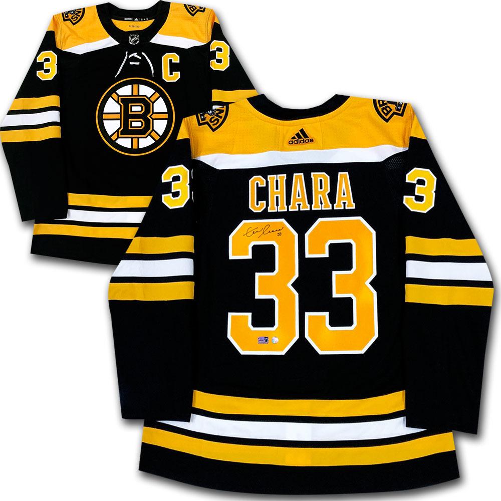 Zdeno Chara Autographed Boston Bruins adidas Pro Jersey